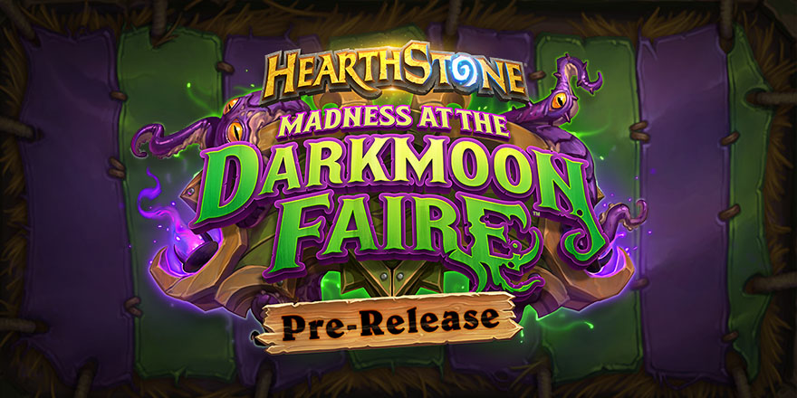 Open Madness at the Darkmoon Faire Packs at Home at Your Own Pre-Release Fireside Gathering!