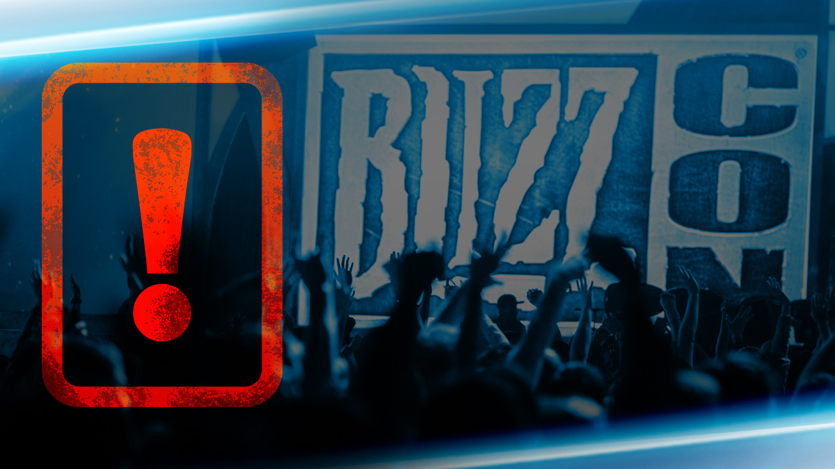 BlizzCon 2018 Tickets – First Batch Sold Out