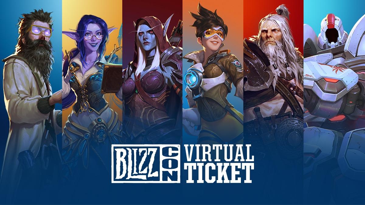 BlizzCon 2019 Fuarı - Sanal Bilet