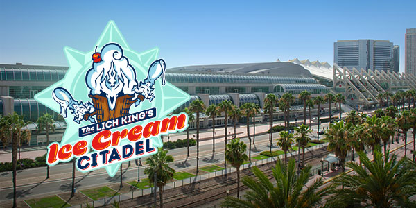 Ice Cream Citadel Descends on San Diego Comic Con!