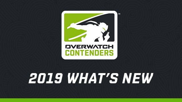 Novedades en Overwatch Contenders en 2019