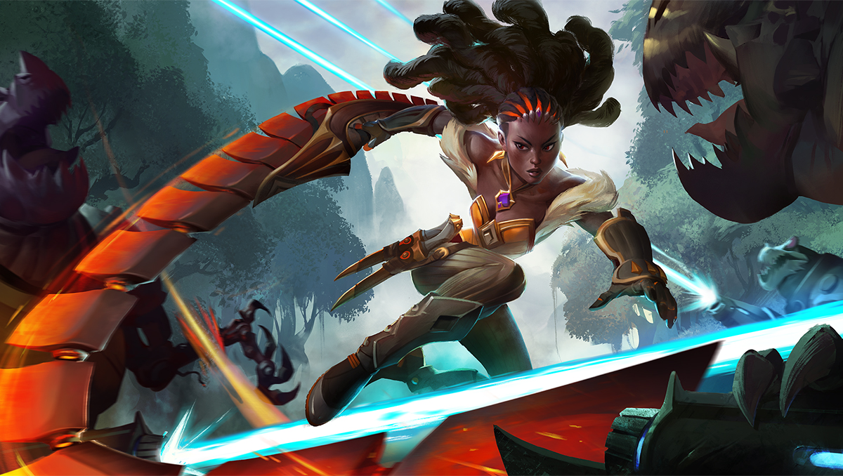 Introducing Our Newest Hero Qhira Heroes Of The Storm Blizzard News Now qhira roams the nexus, armed with an iresian chainblade, making a reluctant living as a today, we're announcing qhira, the second original character to join the heroes of the storm roster. introducing our newest hero qhira