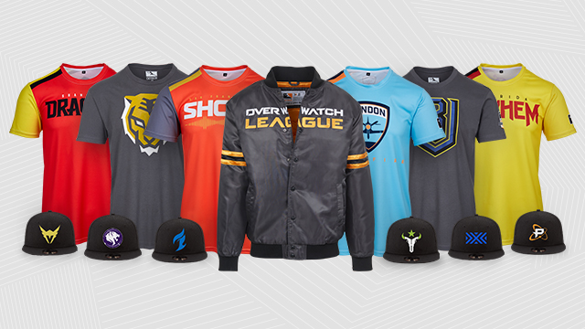 Official Overwatch League Gear Is Here