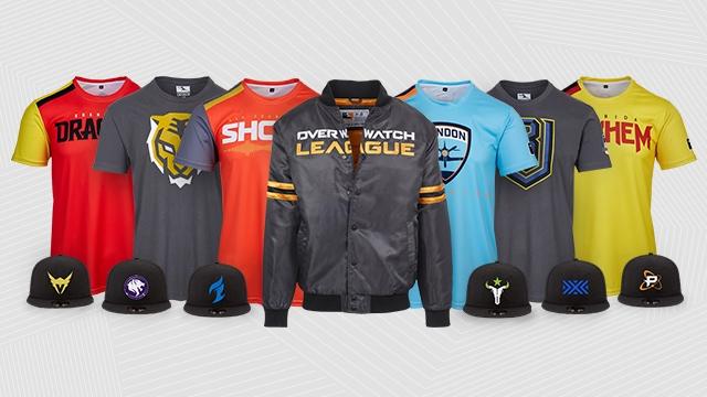 Overwatch League jetzt auch im Gear Store