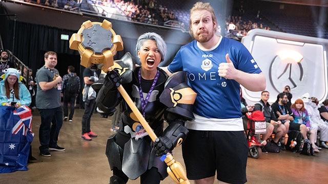 Coupe du monde d'Overwatch : nos photos préférées