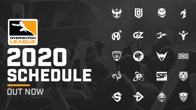 2020 Overwatch League Schedule