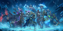 เข้าร่วม Knights of the Frozen Throne