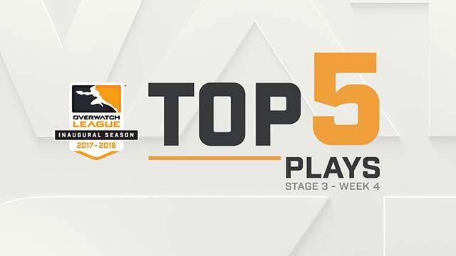 Le cinque giocate migliori: Fase 3, Settimana 4