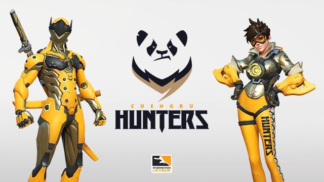 Découvrez les Chengdu Hunters