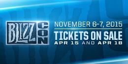 BlizzCon® 2015 Etkinlik Takvimi