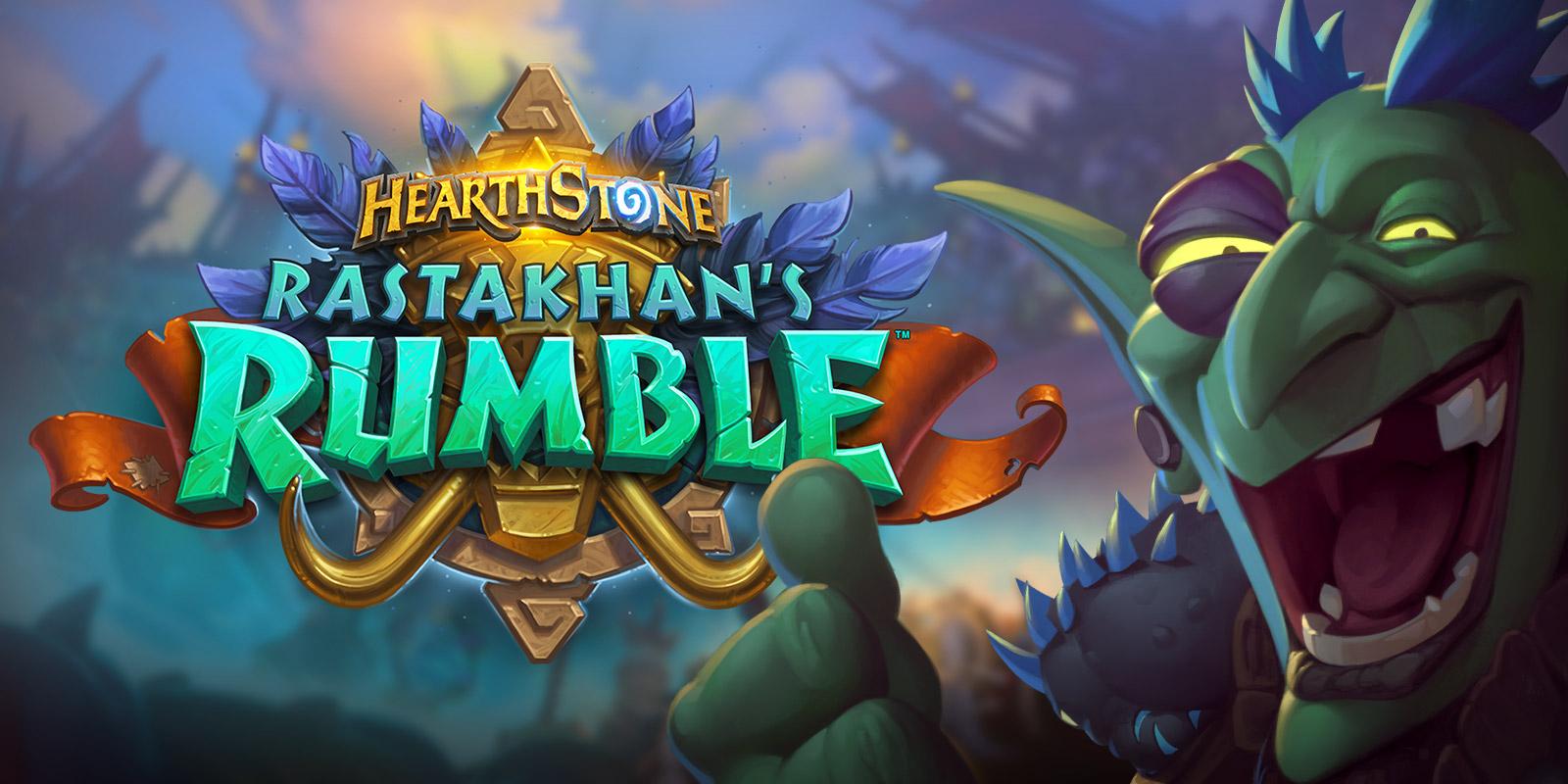 Rastakhan's Rumble Duyuruldu...