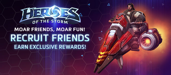 Heroes of the storm official game site - Heroes of the storm space lord leoric ...