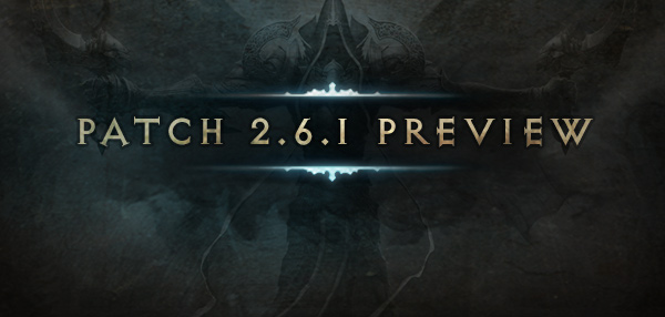 A First Look at Patch 2.6.1