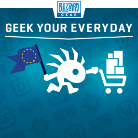 Blizzard Gear Store in Europa!