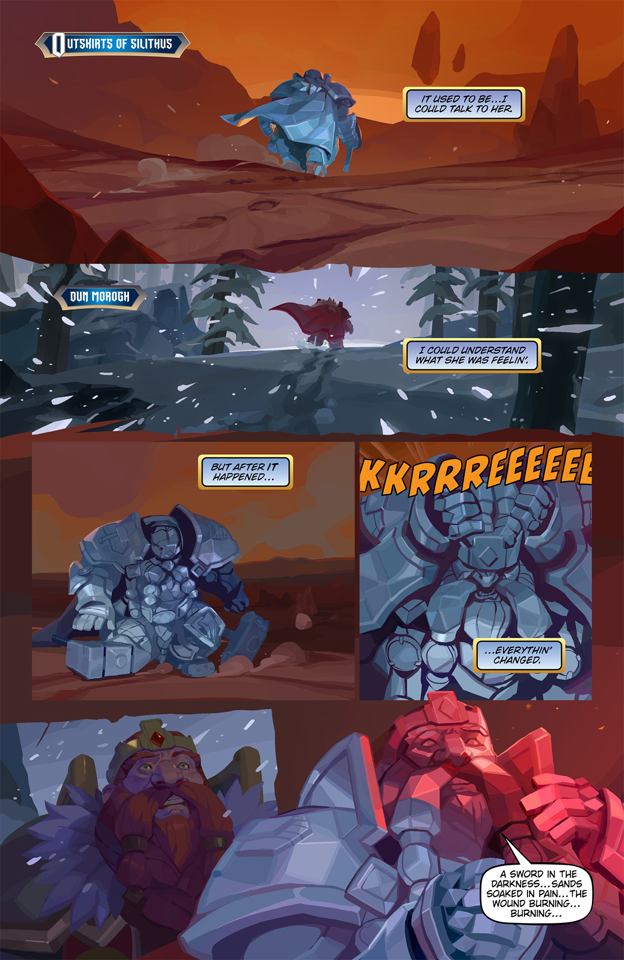 "New Comic: World of Warcraft: Battle for Azeroth #2 — Magni: ""The"