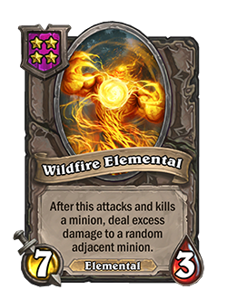 WildfireElemental pictured