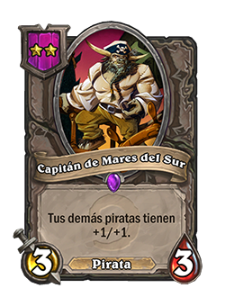 Esbirro de Campos de batalla Capitán de Mares del Sur + ilustración