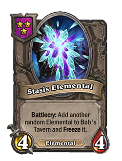 Stasis Elemental pictured