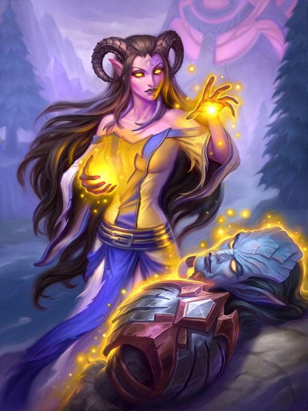 Xyrella, draenejska kapłanka
