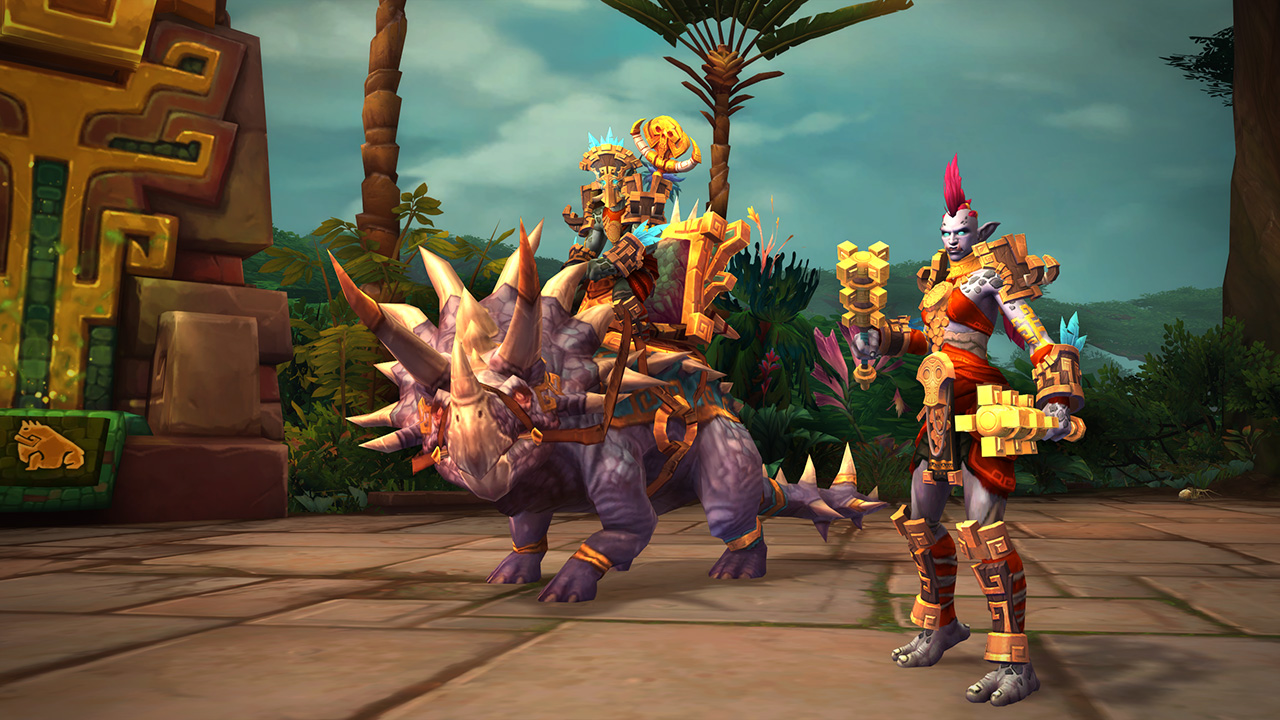 New Allied Races Ahead Kul Tiran Humans And Zandalari Trolls