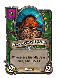 Scavenging Hyena new tier 1
