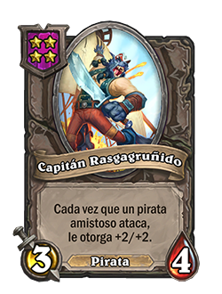 Esbirro de Campos de batalla Capitán Rasgagruñido + ilustración