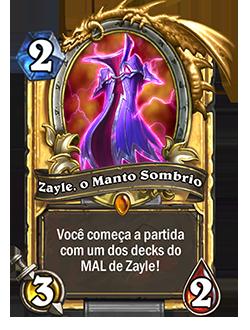 Dourado Zayle, o Manto Sombrio