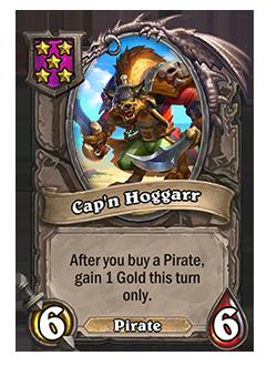 Cap'n Hoggarr Battlegrounds Minion + Art