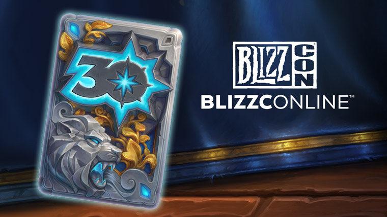 30 years of Blizzard card back pic