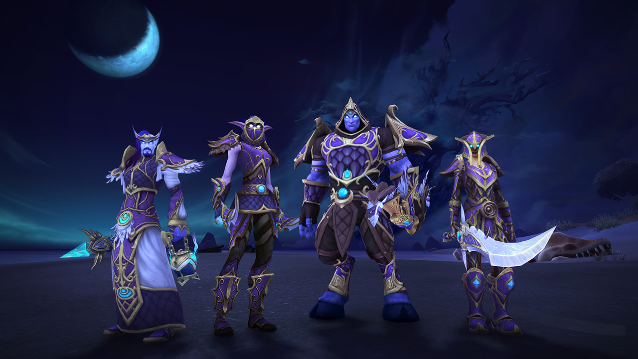 Alliance Darkshore Warfront Armor Sets