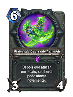 Glaives de Azzinoth - depois
