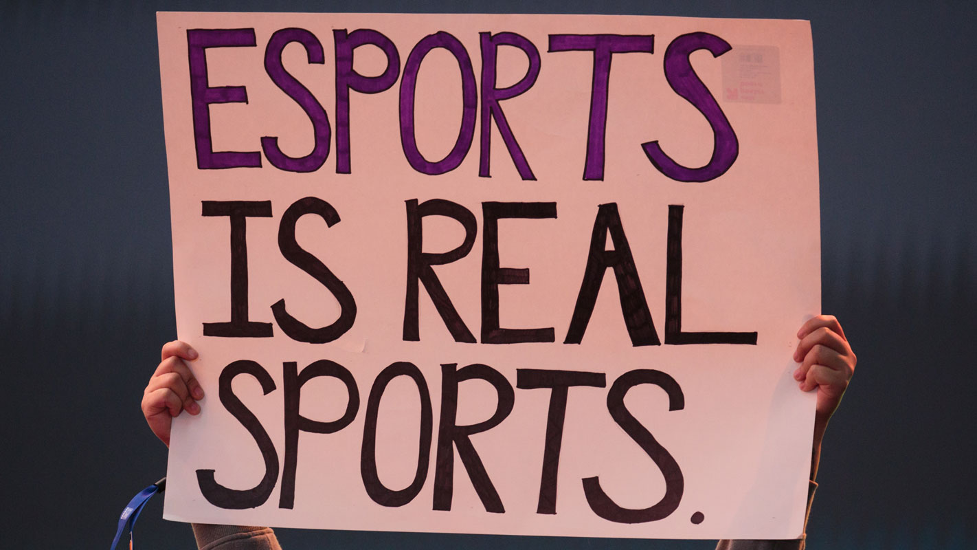 Esports is real sports!