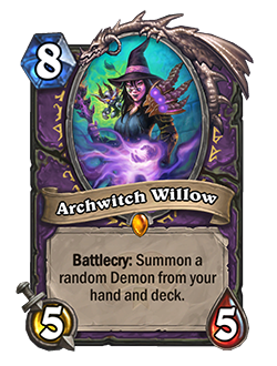Archwitch Willow new