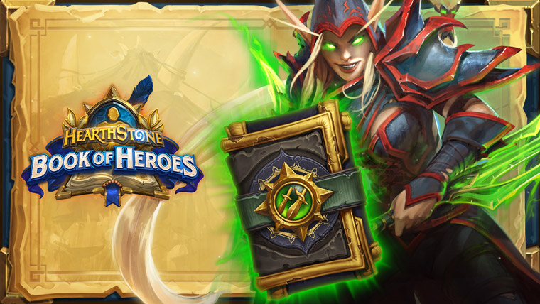 Book of Heroes Valeera and a Rogue Pack picture
