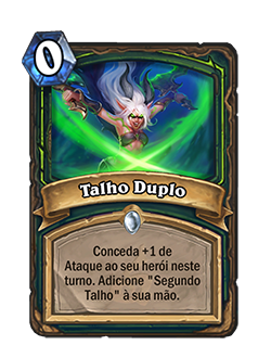 Card Talho Duplo - Antes