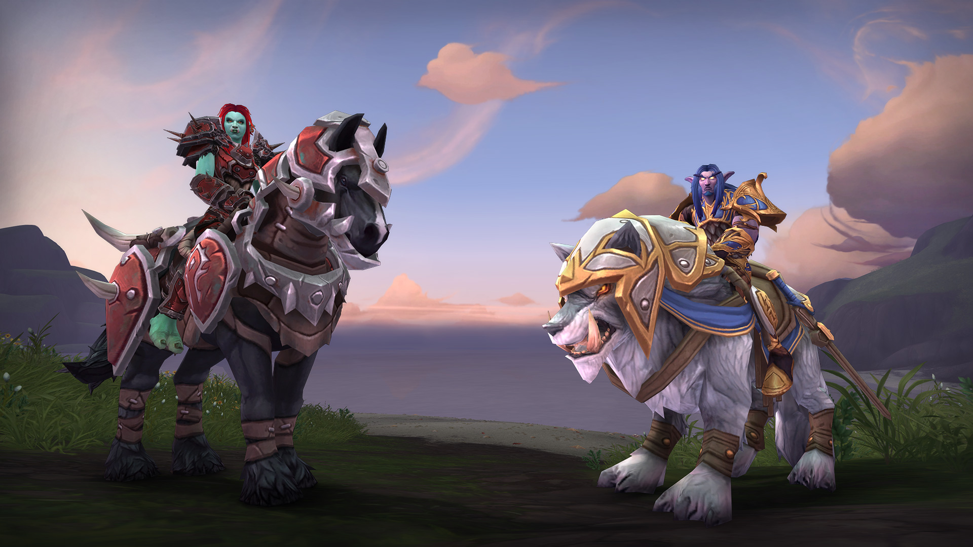 New Allied Races and More Now Live!