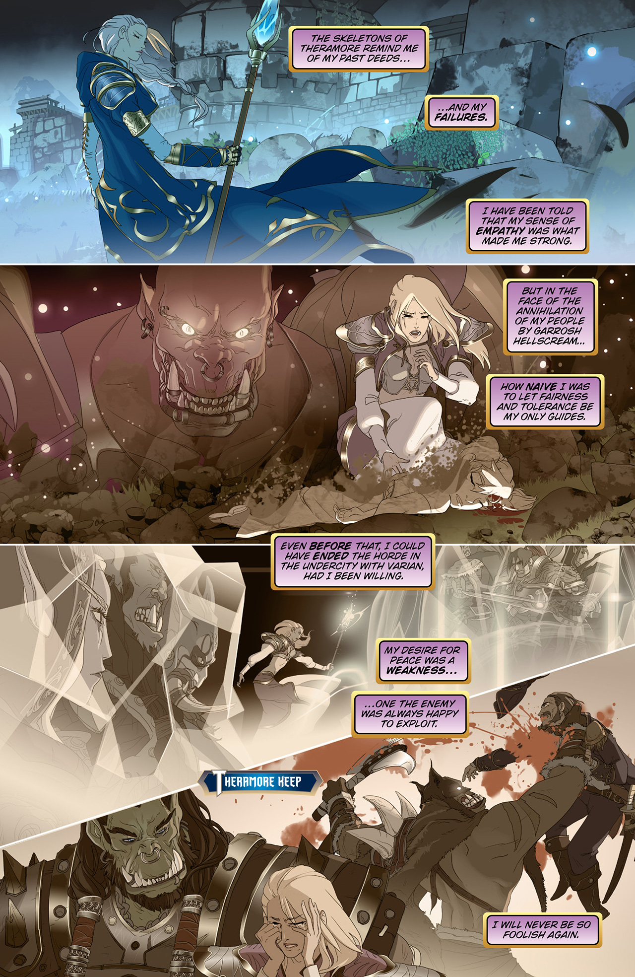 New Comic World Of Warcraft Battle For Azeroth 1 -1278