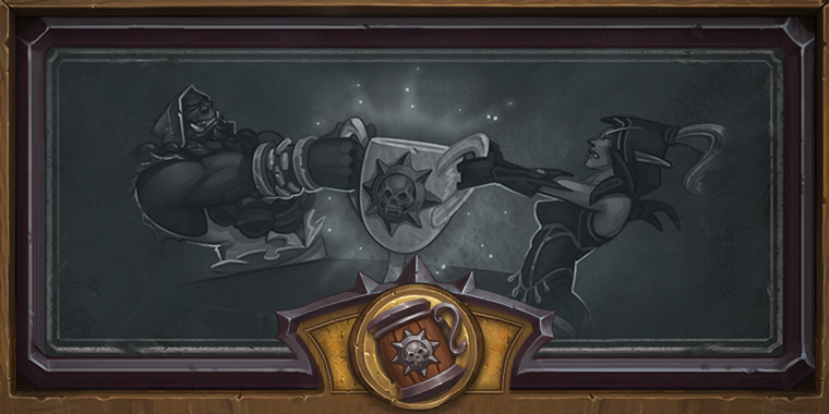 in-game chalkboard for heroic brawliseum brawl