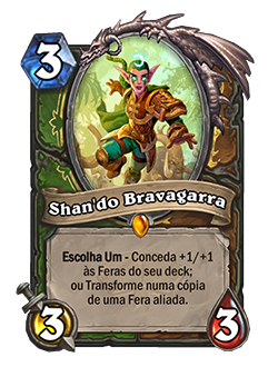 Card Shan'do Bravagarra