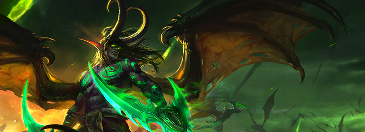"Second Place - ""Illidan Stormrage"" by Wang Qichao aka Gothic Q"