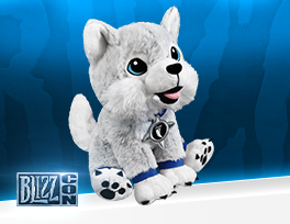 World of Warcraft Snowfang Plush