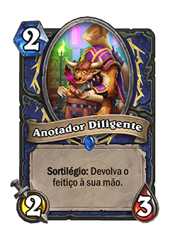 Card Anotador Diligente