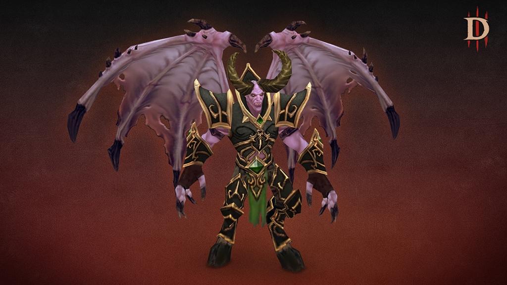 Diablo III: mascote de Mal'ganis