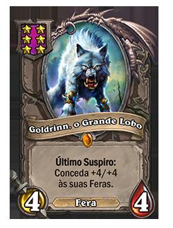 Goldrinn, o Grande Lobo - depois