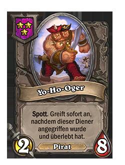 Schlachtfelddiener Yo-Ho-Oger mit Bild