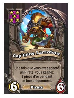 Serviteur du mode Champs de bataille Cap'taine Larrrdeur + illustration