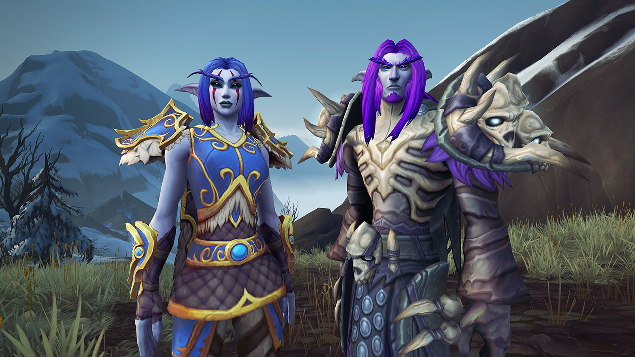 Night Elf Customizations