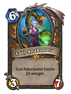 Lady Anacondra - card details are below