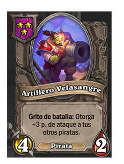 Esbirro de Campos de batalla Artillero Velasangre + ilustración