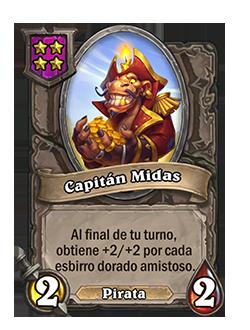Esbirro de Campos de batalla Capitán Midas + ilustración